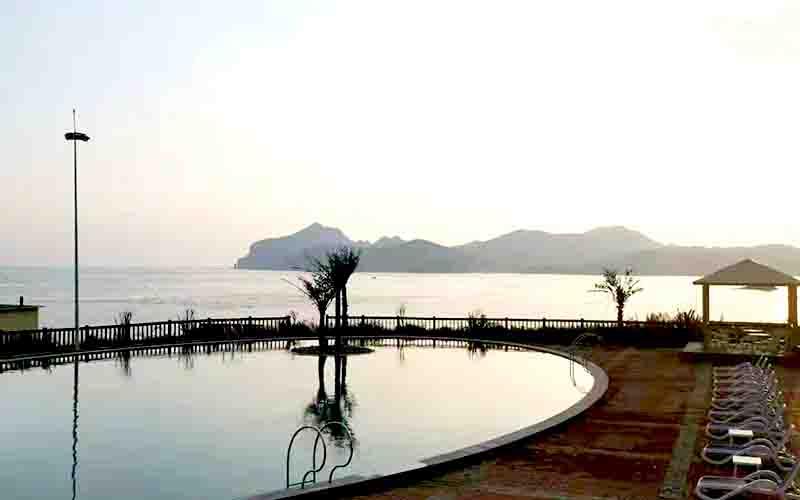 大连长海星月湾度假酒店,一处摘星望月