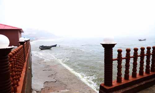 大连西中岛观海楼