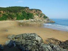 哈仙岛金沙滩图片