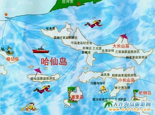 哈仙岛旅游指南