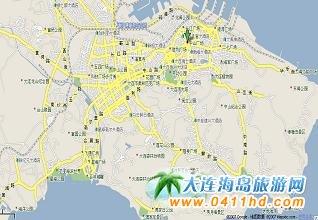 大连市地图 大连旅游地图