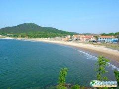 广鹿岛旅游图片-月亮湾海水浴场