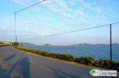 大连西中岛图片-海间小路