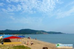 大连西中岛图片-休闲的海滩