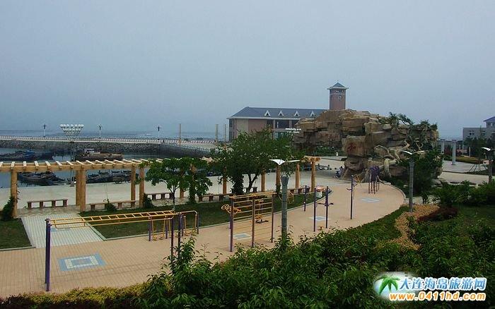 海王九岛图片-客运站码头街景1