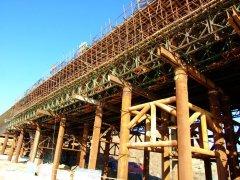 在建中的长海县长山大桥图片