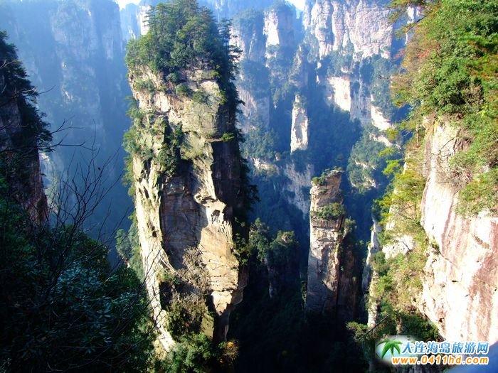 张家界旅游景点之哈利路亚山图片1
