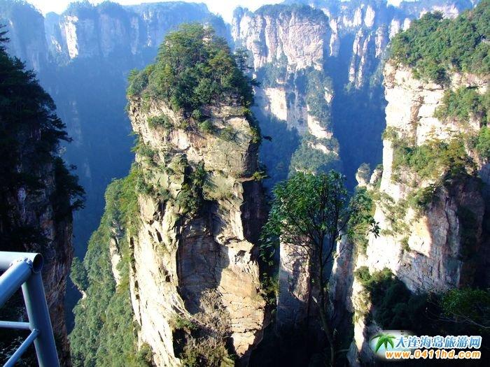 张家界旅游景点之哈利路亚山图片3