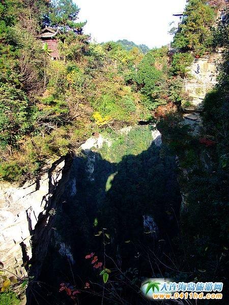 张家界旅游景点-天下第一桥图片2
