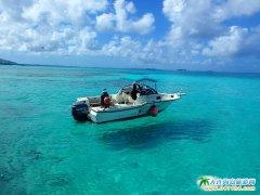 塞班军舰岛图片-清透空灵般的海