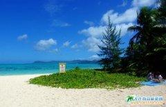 塞班岛图片-妩媚的军舰岛海滩美景