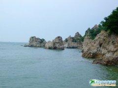 石城岛旅游景点-海上石林图片