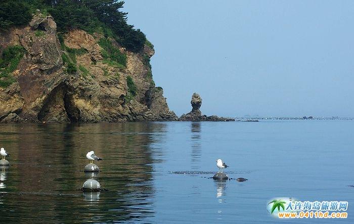 大连塞里岛风景图片-人石1