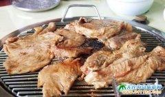 韩国美食-济州岛烤猪肉