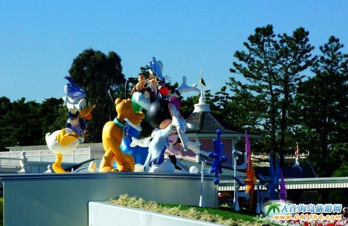 东京迪士尼乐园圣诞前夕图片-日本旅游图片1