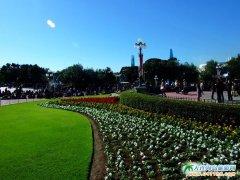 日本旅游图片―绿意萦绕的迪士尼乐园