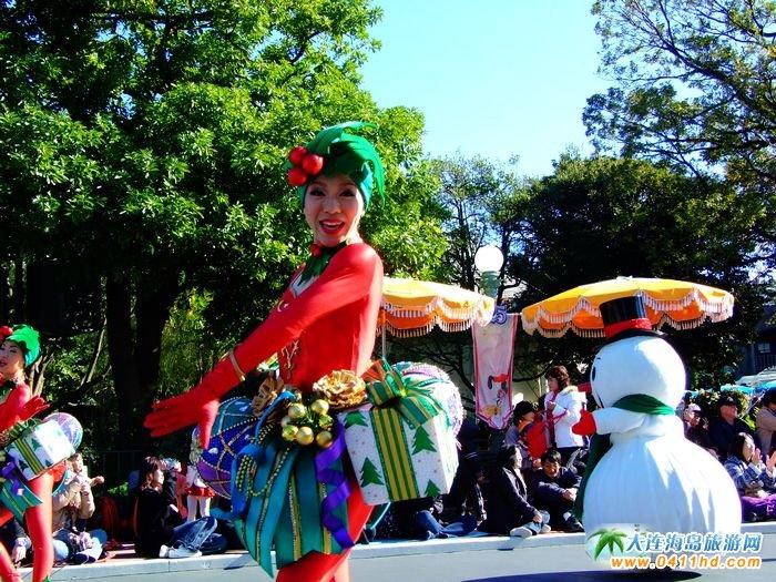 迪士尼乐园表演时间_东京迪士尼乐园图片—巡游表演图集(13)