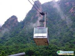 韩国旅游图片――韩国雪岳山缆车图片