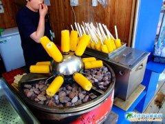 南怡岛的小吃-韩国旅游图片