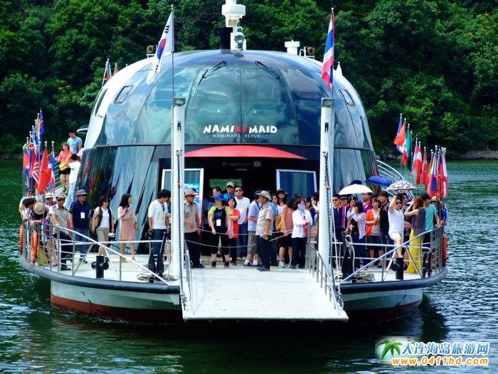 韩国南怡岛旅游景点图片――南怡岛轮渡