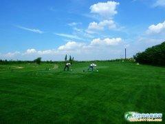 新区景色――大连槐之乡高尔夫练