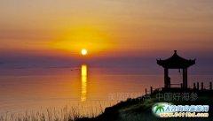财神岛夕阳美景欣赏