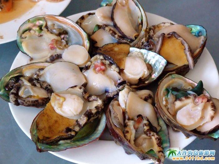 獐子岛海鲜美食之海鲜火锅――鲜活鲍鱼