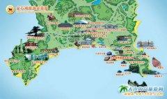 大连金石滩地图,大连金石滩旅游全景地图(大连金石滩自助游必读