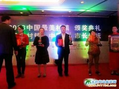 2013 中国最美村镇评选上海揭晓,向应街道获殊荣东北惟