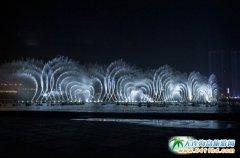 大连经典免费景点――东港音乐喷泉