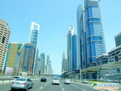 迪拜旅游图片――浓缩世界高大上的建筑群