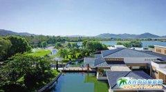 """""""爱在铭湖"""",享受现代温泉、滑雪、牧场综合旅游度假区"""