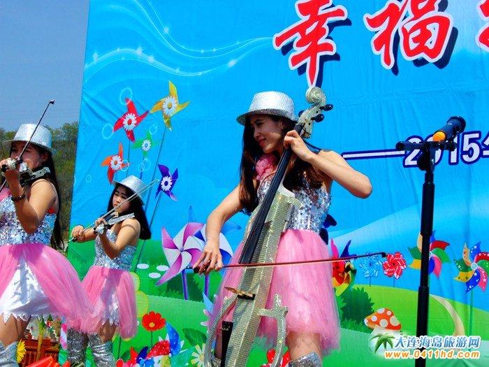 风的妩媚,春的舞动,紫云花汐风车文化节图集7