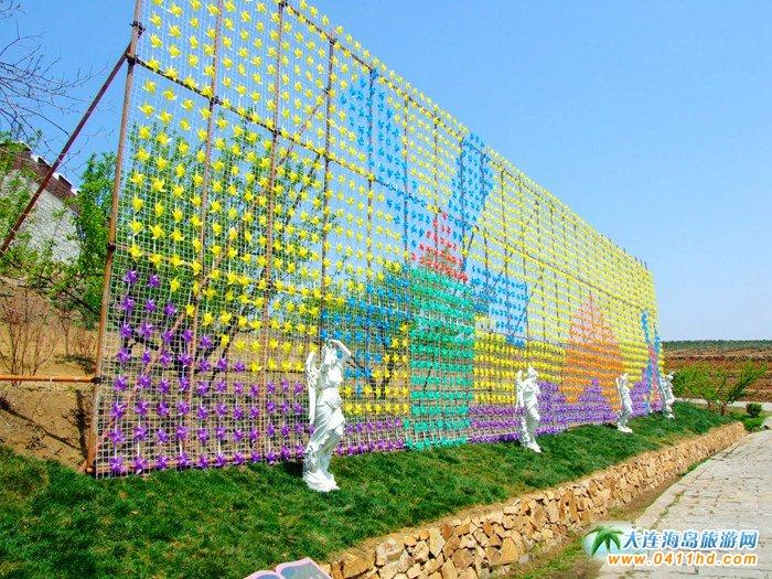 风的妩媚,春的舞动,紫云花汐风车文化节图集18