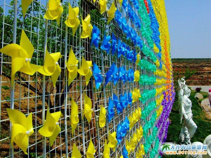 风的妩媚,春的舞动,紫云花汐风车文化节图集21
