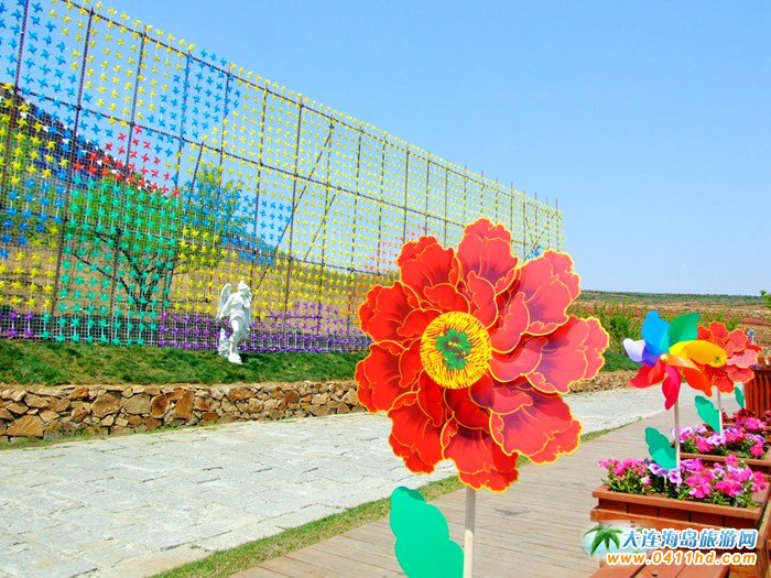 风的妩媚,春的舞动,紫云花汐风车文化节图集22