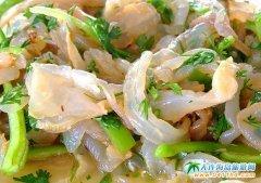 石城岛美食:新味海蜇皮
