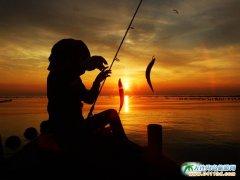 落日,渔,韵――海洋岛美图