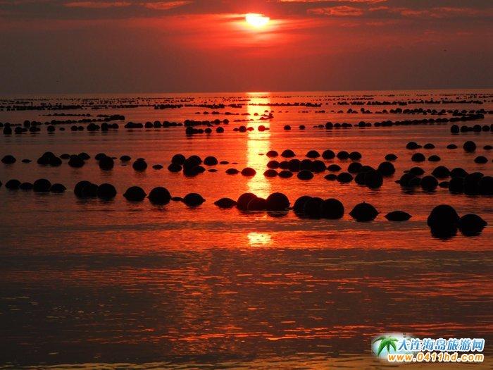 赤色天霞――海洋岛日落图片15