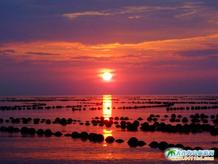 赤色天霞――海洋岛日落图片17