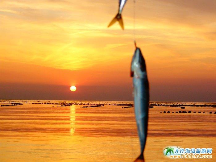 金光海色――大连海洋岛夕阳图片7