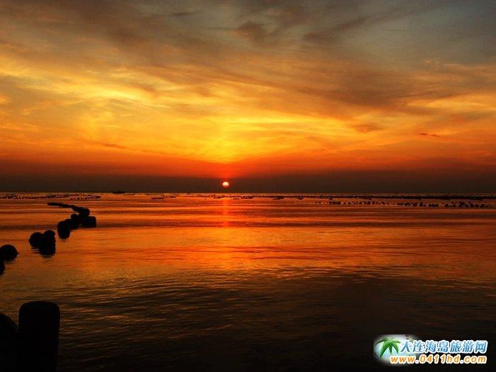 金光海色――大连海洋岛夕阳图片12