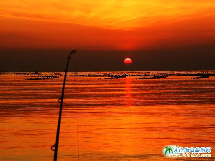 金光海色――大连海洋岛夕阳图片13