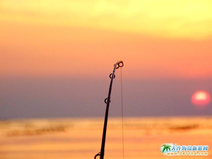 金光海色――大连海洋岛夕阳图片14
