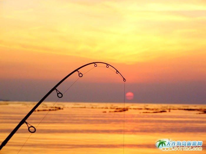 金光海色――大连海洋岛夕阳图片19