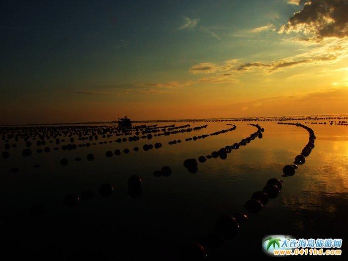 金光海色――大连海洋岛夕阳图片20
