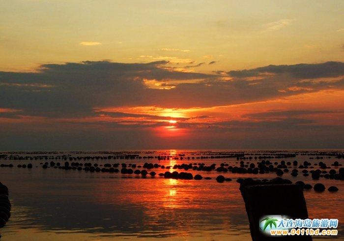 金光海色――大连海洋岛夕阳图片21