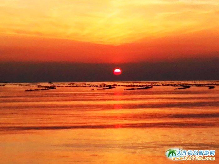 金光海色――大连海洋岛夕阳图片23