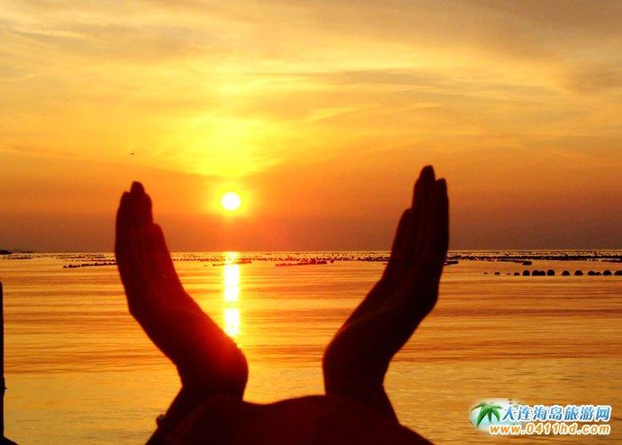 金光海色――大连海洋岛夕阳图片3