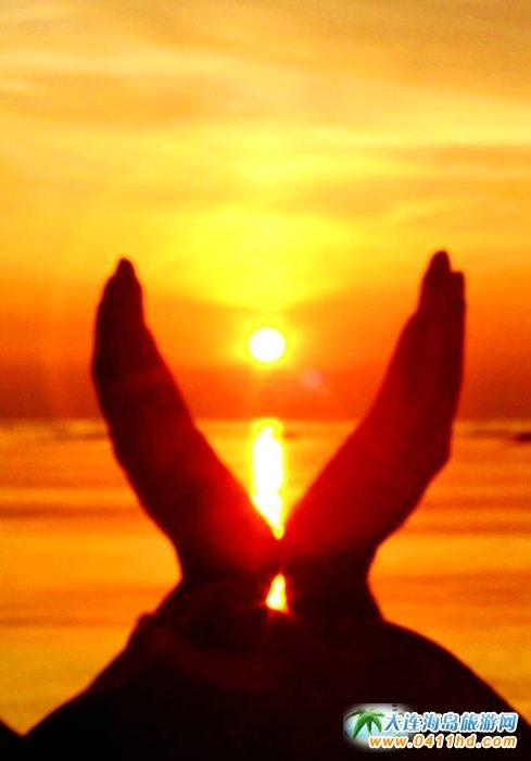 金光海色――大连海洋岛夕阳图片4